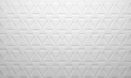 White background Triangle up and down pattern