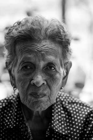 Lonely senior woman ,elderly,old woman,feelings,thoughtful, portrait sad depressed,wait, gloomy, worried, covering her face, Human face expressions Stok Fotoğraf