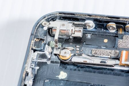 The smartphone was damaged and need to repair