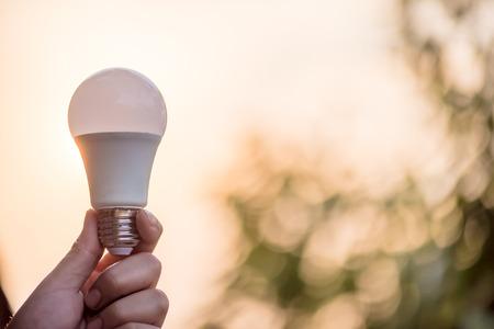 Energy saving LED BULB ECO With the environment