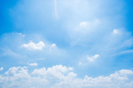 clear blue sky background,clouds with background. Stock Photo - 111563188