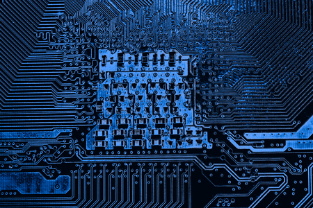 Abstract,close up of Mainboard Electronic computer background. (logic board,cpu motherboard,Main board,system board,mobo)