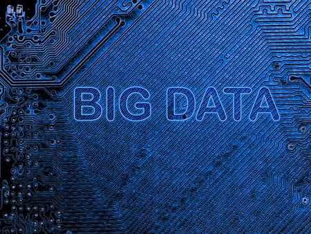 Abstract, close up of Mainboard Electronic computer background. (Big data)