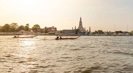 The most beautiful Viewpoint Wat Arun,Buddhist temple in Bangkok, Thailand