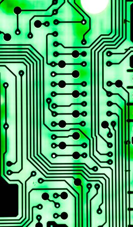 Abstract,close up of Mainboard Electronic computer Banco de Imagens