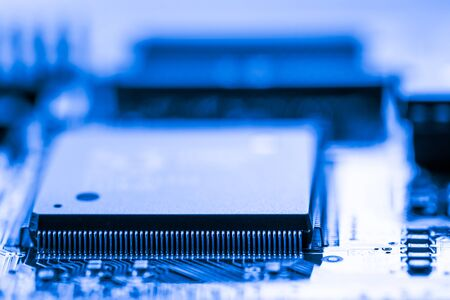 Abstract,close up of Mainboard Electronic computer background. Stock fotó