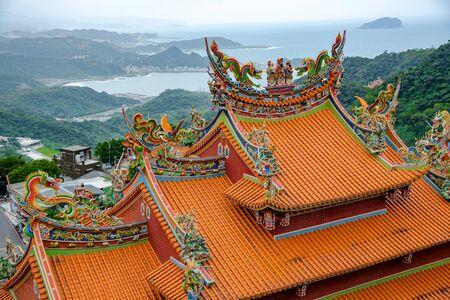 temple of jiufen Culture Village in Taipei, Taiwan