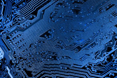 Abstract,close up of Mainboard Electronic background. (logic board,cpu motherboard,circuit,system board,mobo) Imagens