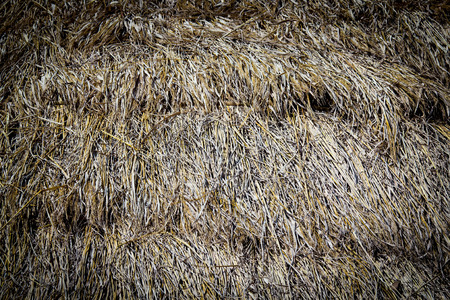 chaff: Chaff on roof for background
