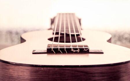 guitar in vintage color tone Reklamní fotografie - 46751010