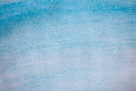fading: Abstract blue watercolor hand paint for background