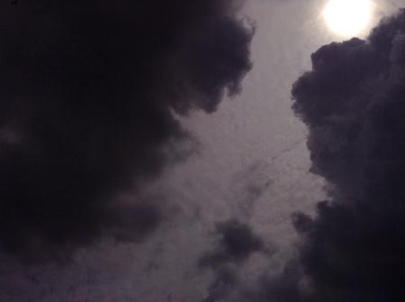 dark: Sun and Dark clouds