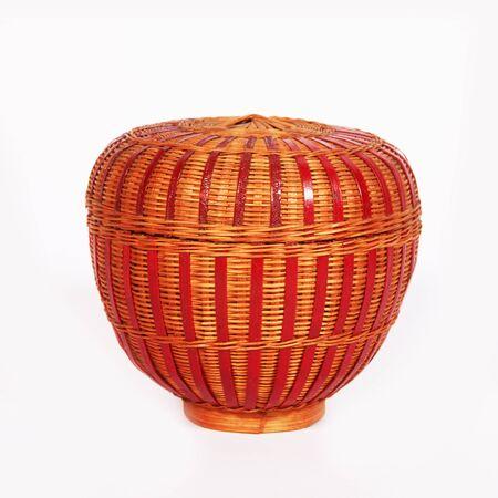 natural bamboo handmade weaving photo