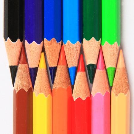 cool colors: warm & cool colors of pencils