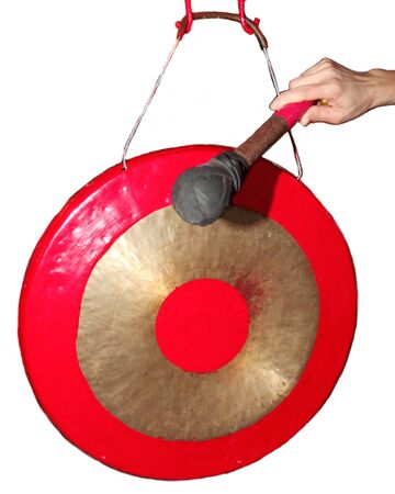 Thai gong instrument Stock Photo - 11087306