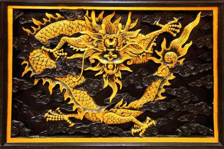 spirituell: golden dragon