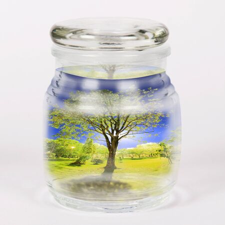 save nature in the bottle photo