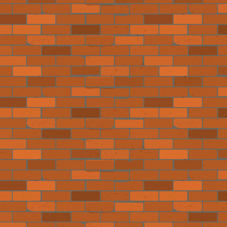 Brick wall texture Illustration