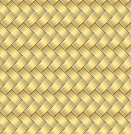 Seamless braided stripes vector pattern