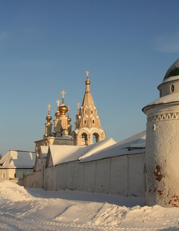 Ryazan Kremlin - one of the most beautiful monuments in Central Russia Stock Photo
