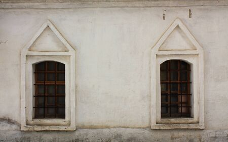 seventeenth: Windows of construction  of Novospassky Monastery of the seventeenth century