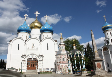Uspensky Cathedral is  an architectural monument of the sixteenth century Stock Photo