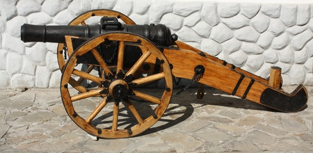 castings: The artillery gun.  Cast iron, castings, size 127-128 mm. Russia, XIX century
