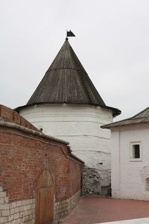 stone walls and towers of the Kazan Kremlin were erected in the XII century Editorial