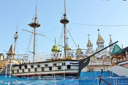 scenery in the Kremlin Izmailovo (Moscow)