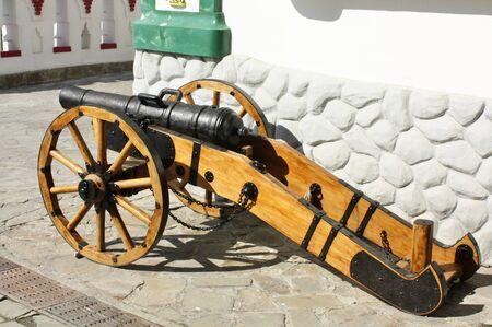 castings: The artillery guns.  Cast iron, castings, size 127-128 mm. Russia, XVIII century