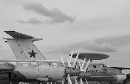 military aircrafts at the air show MAKS 2011 photo