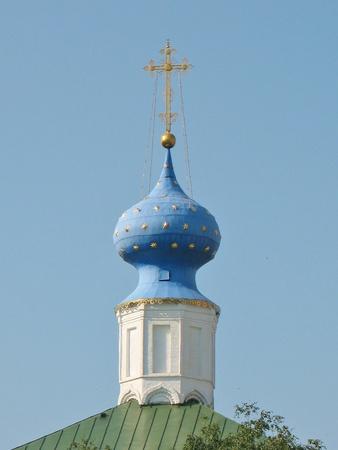 Dome of the orthodox church of the Ryazan Kremlin Stock Photo - 11454284