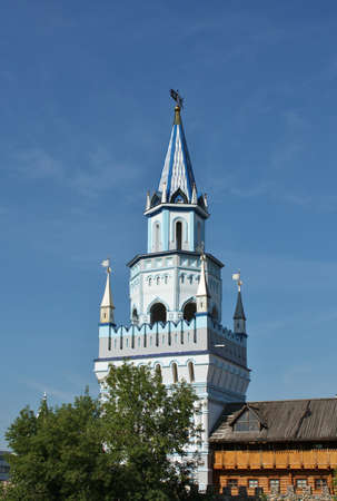 Kremlin in Izmailovo is a cultural and entertainment complex in Moscow. photo