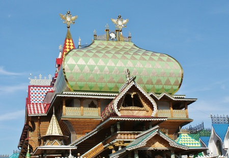 Kremlin in Izmailovo is a cultural and entertainment complex in Moscow