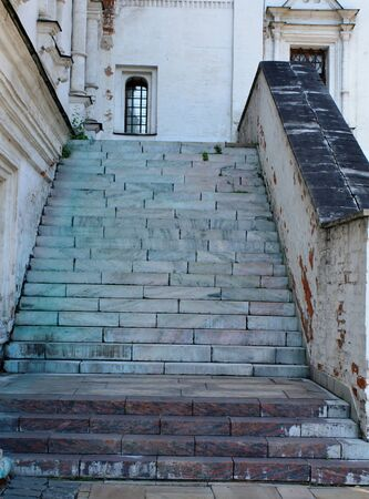 Stairway into the Archangel Temple of the Andronicus Monastery. Built in the fourteenth century  Stock Photo - 11754958