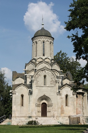 spassky: Spassky Cathedral of Andronicus Monastery is the oldest in Moscow monastery church, built in XV century
