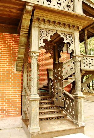 kuskovo: Detail of historical building in estate Kuskovo near Moscow  Editorial