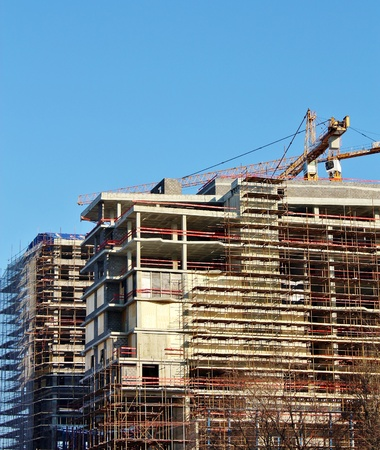 Rise in price of land in Moscow leads to the construction of high buildings photo