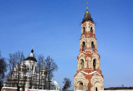 St  Nicholas Berlyukovsky Monastery near Moscow was founded in the early 17th century, rebuilt in the late 18th century