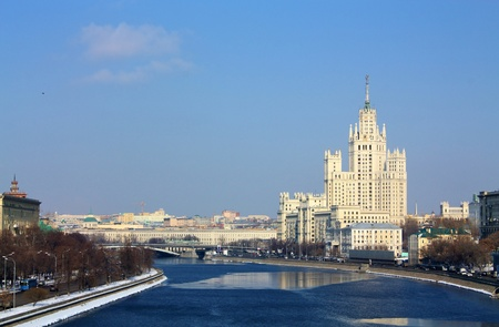 View of the Moscow River from the Big Krasnokholmsky Bridge