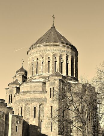 Domes of the Orthodox Church  built in modern style