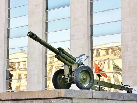 seconda guerra mondiale: Obice 152 mm � stato il pezzo di artiglieria di base della seconda guerra mondiale
