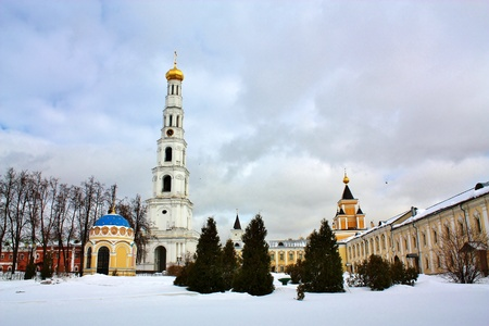 Constructions of the Nicholas Ugreshsky monastery, which was founded in 1380 by Grand Prince Dmitry Donskoy on the site of appearance of the icon of St  Nicholas Stock Photo - 13072444