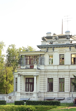Palace of Grachevka estate was built in 1900 in Moscow, modeled on the famous gambling house in Monte Carlo Stock Photo - 13714654