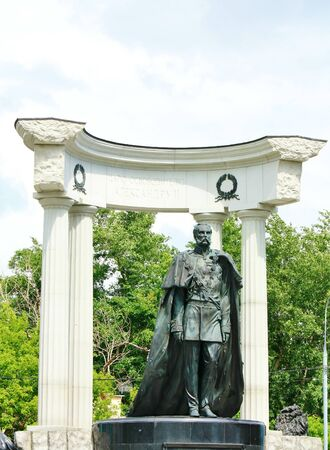 liberator: Monument to the Russian Emperor Alexander II  1855-1881 , erected in 2005 in Moscow