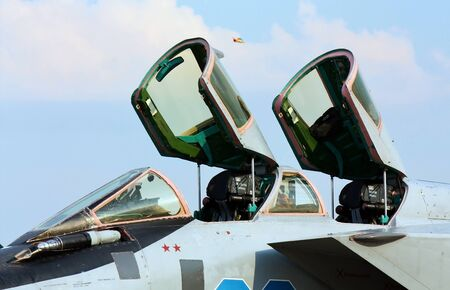 radar gun: Double cabin of the fourth-generation fighter made in Russia