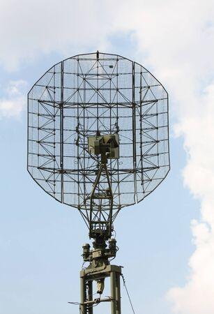 Military radar antenna photo