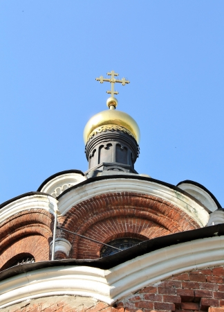 Church  �Sign Mother of God�  built in the nineteenth century in Moscow Stock Photo