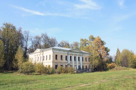 outbuilding: Outbuilding of architectural ensemble of the eighteenth century outside Moscow