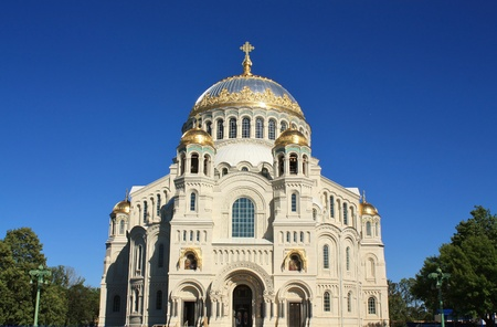 st nicholas cathedral: Orthodox Cathedral  Located in Kronstadt, built in 1913 by architect Vasily Kosyakov